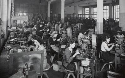 Travailler à l'usine. Photographies de l'entreprise Gardy (1918-1958)