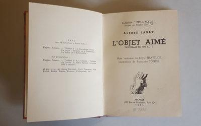 L'objet aimé : pastorale en un acte, Alfred Jarry