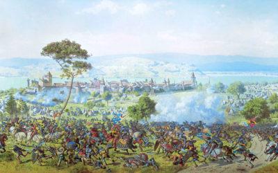 Le panorama de la «bataille de Morat» présenté à Plainpalais