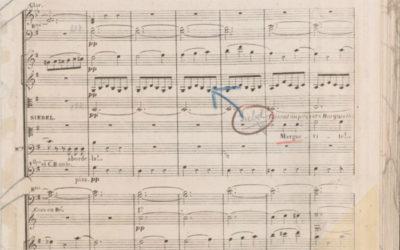 Une particularité de La Musicale: les matériels d'orchestre (1)