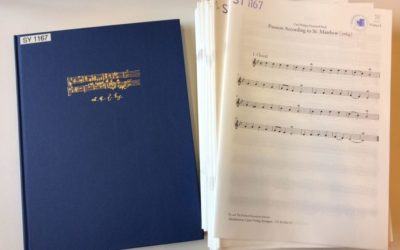 Une particularité de La Musicale: Les matériels d'orchestre (2)
