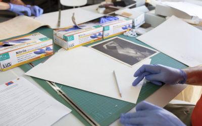 Fonds Dany Gignoux (4): le traitement physique des fonds photos pour une conservation optimale