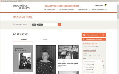 Fonds Dany Gignoux (5): le classement, l'inventaire et la mise en ligne