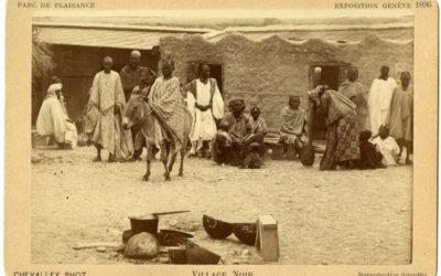 Le Village noir de l'Exposition nationale de 1896