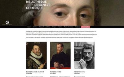 La Bibliothèque de Genève soigne ses vedettes