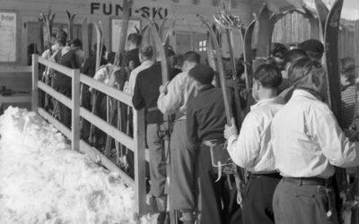 Genève au fil du temps: Sports d'hiver en 1938