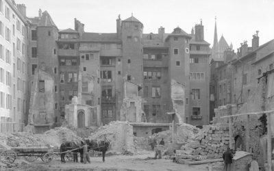 Genève au fil du temps: Rive, de la démolition à la reconstruction