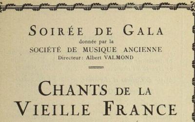 onstage: les programmes de concert de La Musicale (2)