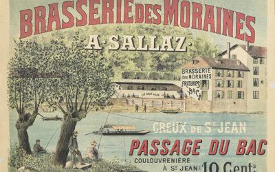 Du Pélican blanc au Café des Moraines