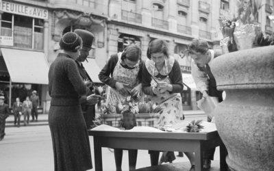 Genève au fil du temps: le muguet du 1er mai