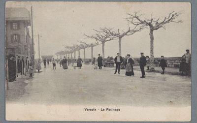 Genève au fil du temps: patinage en ville
