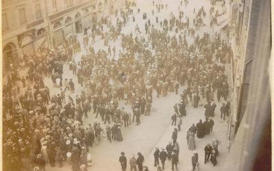 Genève au fil du temps: La grève des Tramways