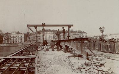 Genève au fil du temps: Pont du Mont-Blanc
