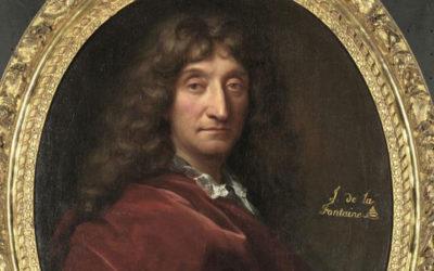 Un célèbre portrait de Jean de La Fontaine pour fêter son 400ème anniversaire