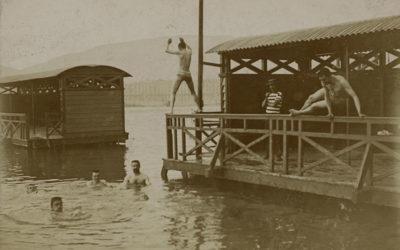 Genève au fil du temps: bains des Pâquis