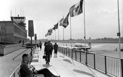 Genève au fil du temps: terrasse d'aérogare