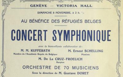 onstage: les programmes de concert de La Musicale (3)
