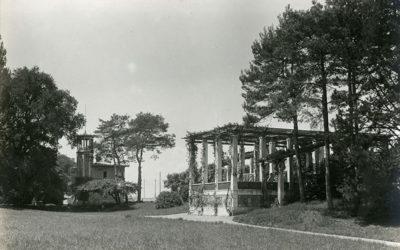 Genève au fil du temps: pergola au Parc de la Grange