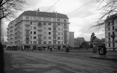 Genève au fil du temps: place des Augustins